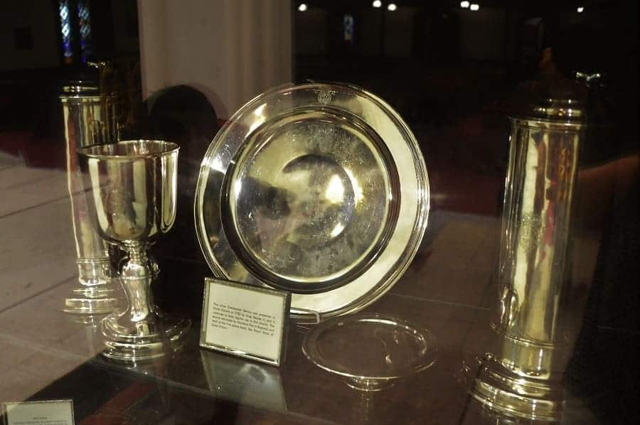 New Bern Episcopal Church Silver from King George