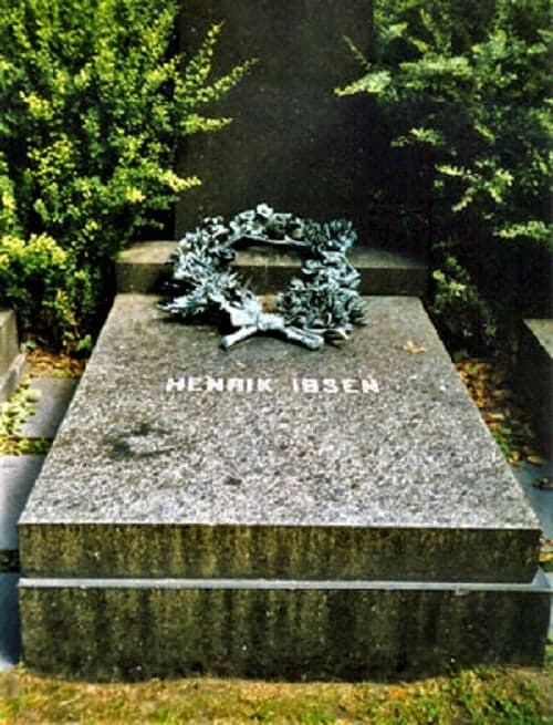 Henrik Ibsen Grave in Norway