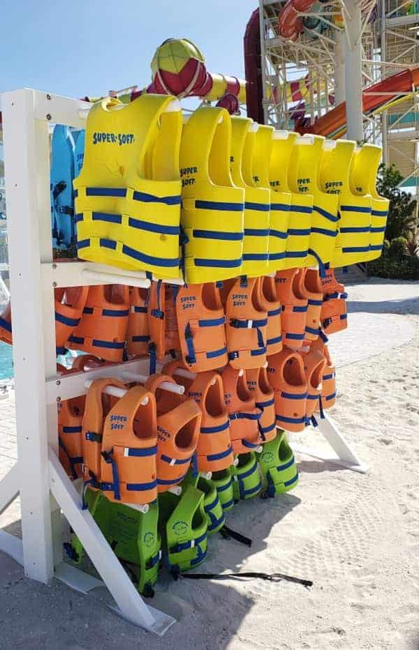 Coco Cay Life Vests