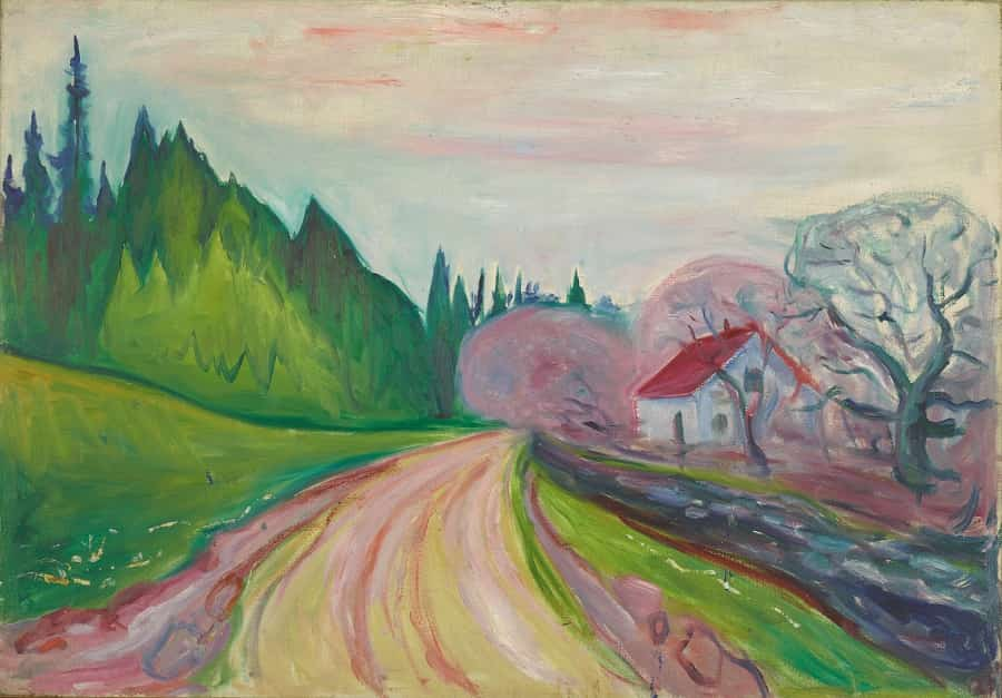 The Road to Borre at Munch Museum