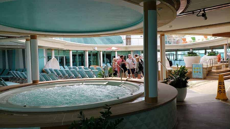 Hot Tubs in Adult pool Area