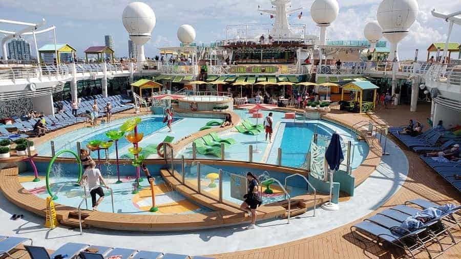 Navigator of the Seas Pool