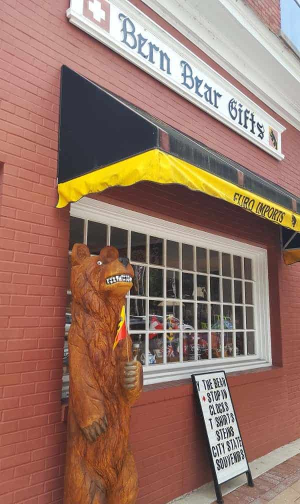 Bern Bear Gift Shop in New Bern