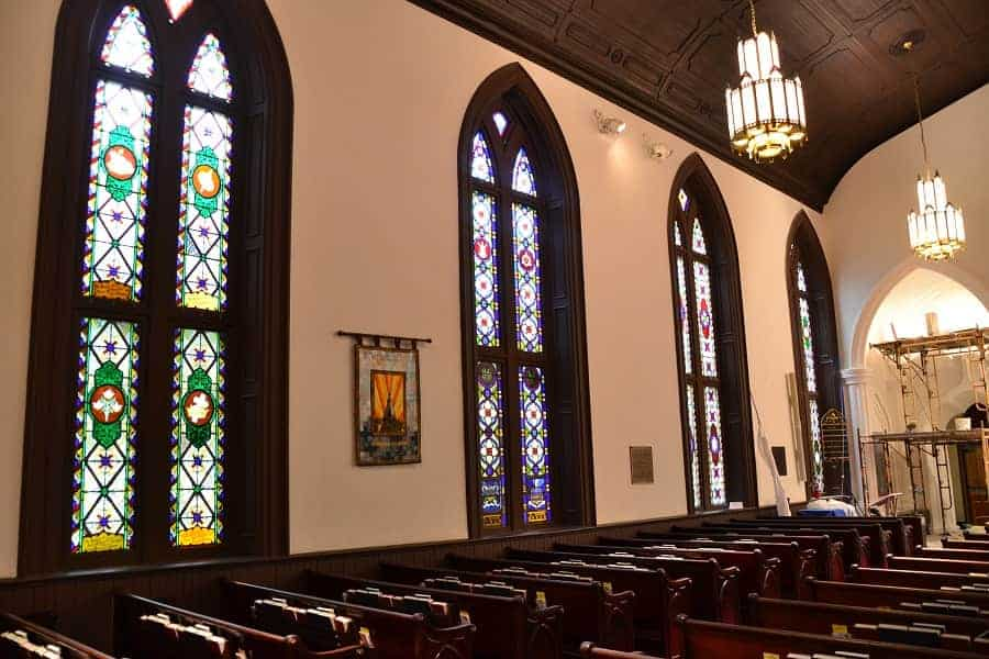 New Bern Episcopal Church Interior