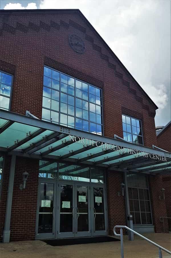 North Carolina History Center in New Bern