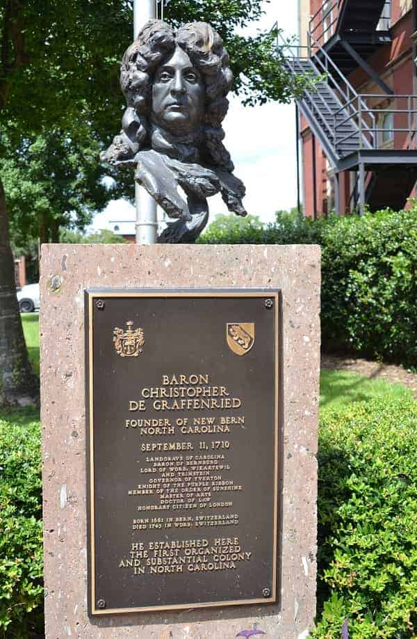 Founder of New Bern NC