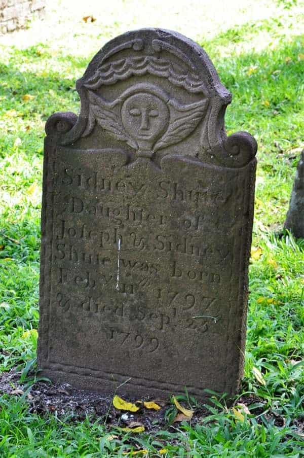 Cedar Grove Cemetery Headstones