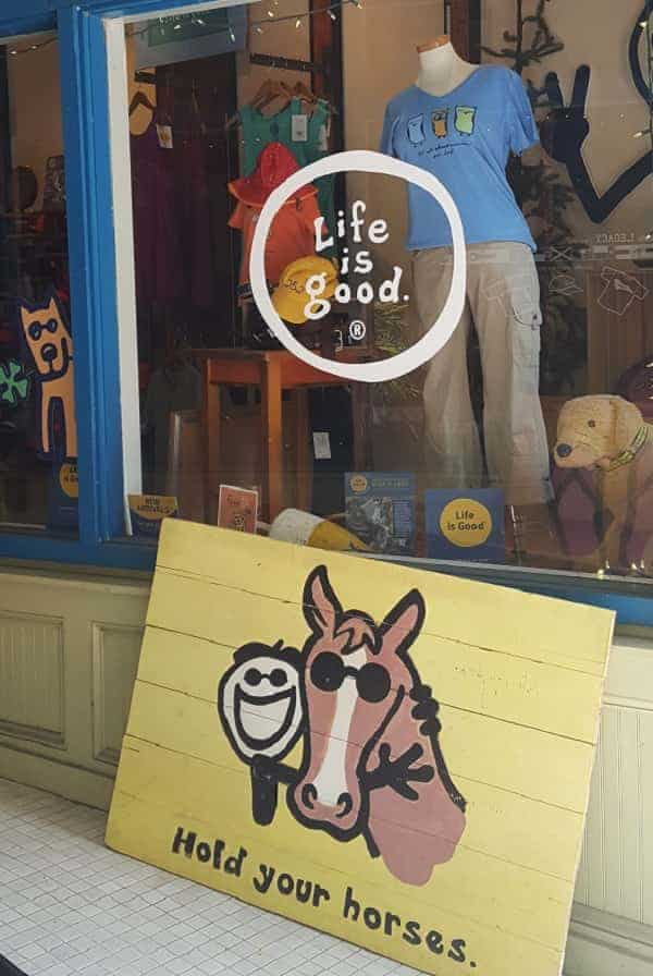 Life is Good Store in New Bern