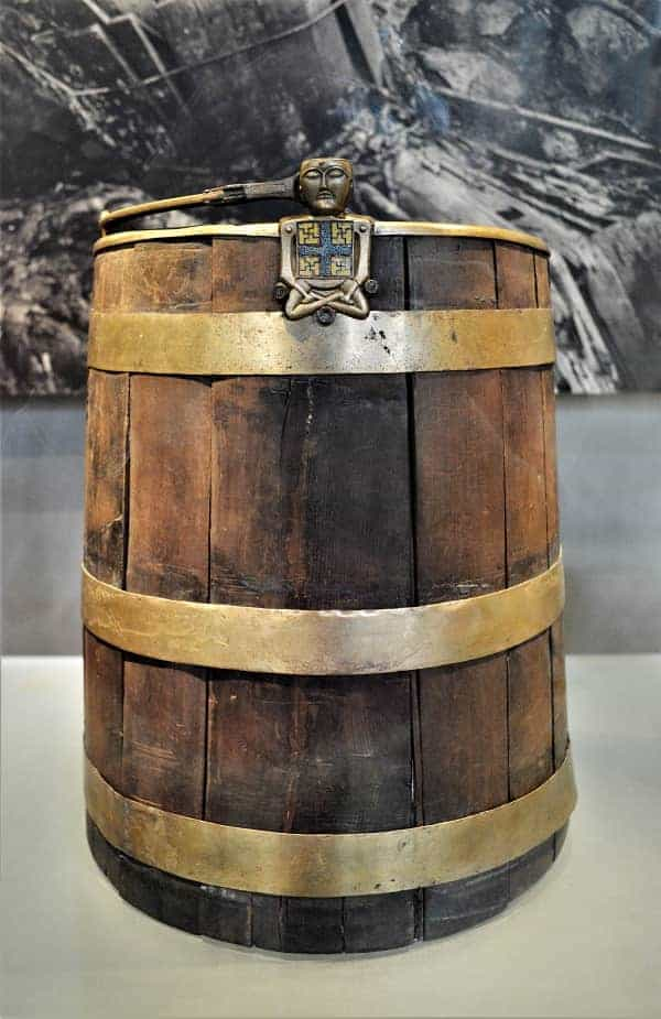 Viking Barrel in Oslo Museum