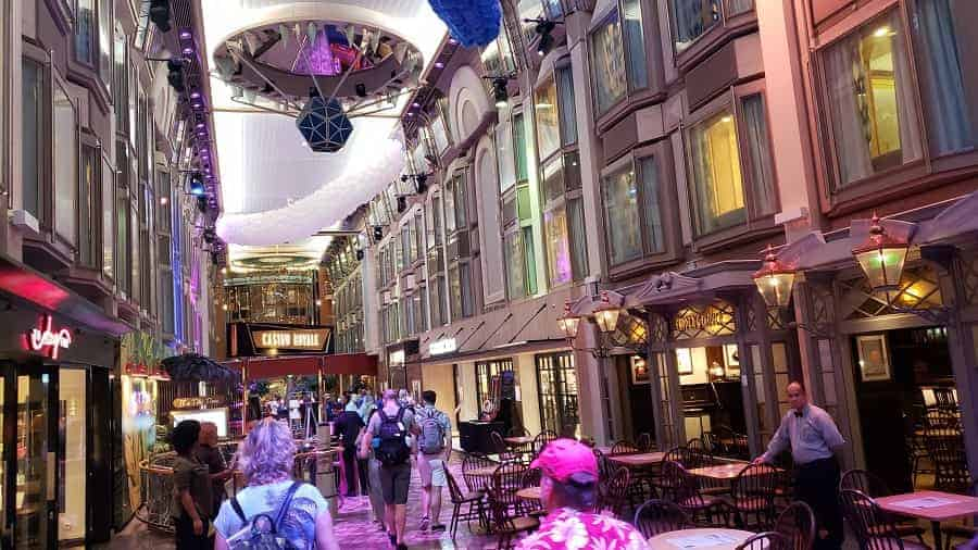 Promenade on the Navigator of the Seas