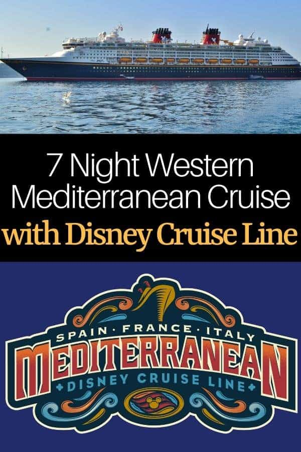 7 Night Western Mediterranean Disney Cruise