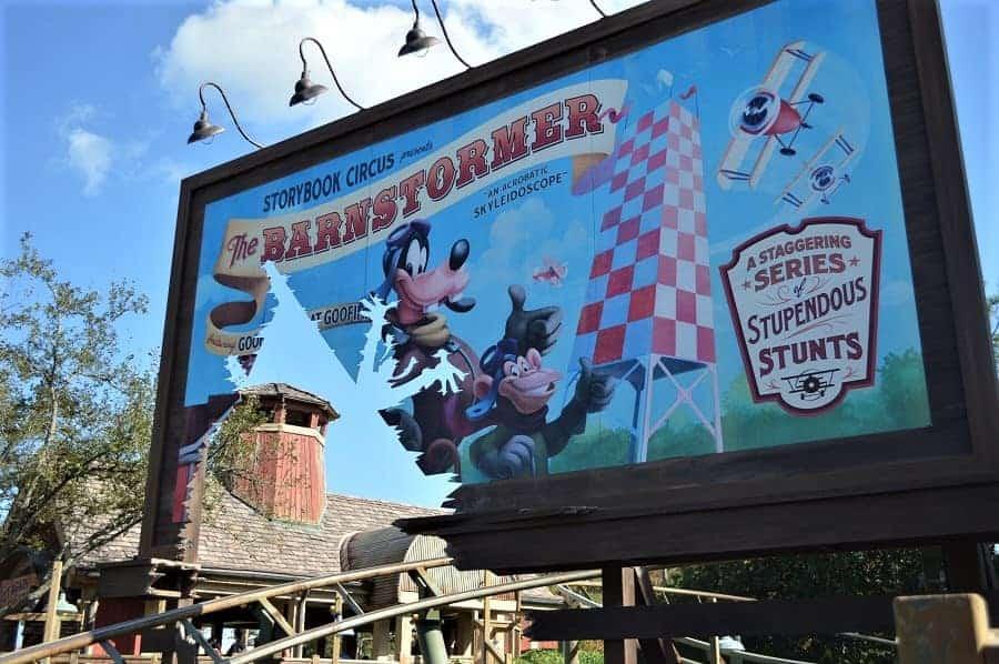 Barnstormer in Fantasyland