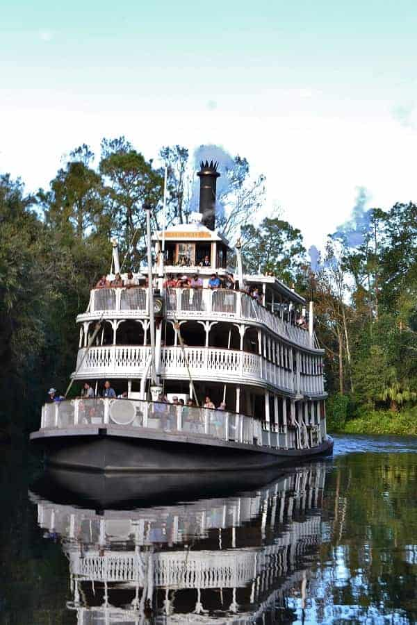 Riverboat at Magic Kingdom