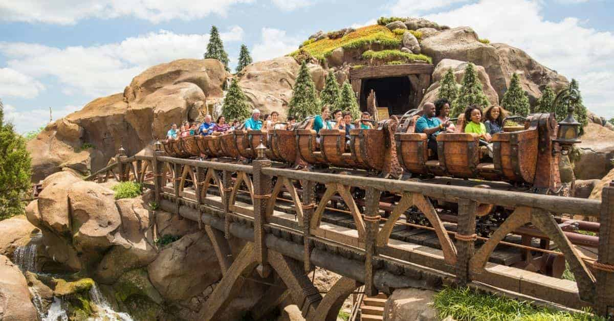 Mine Train Ride at Magic Kingdom