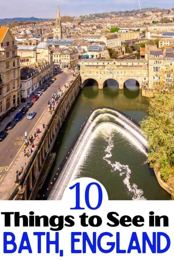 10 Things to do in Bath England