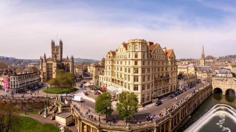 View of Bath England