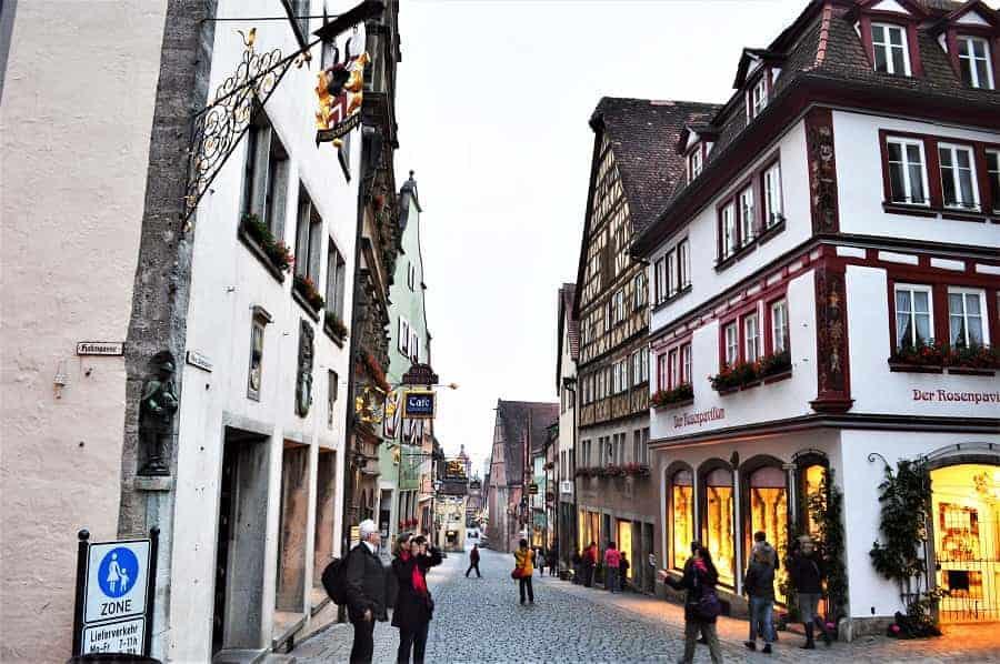 Rothenburg Germany Street
