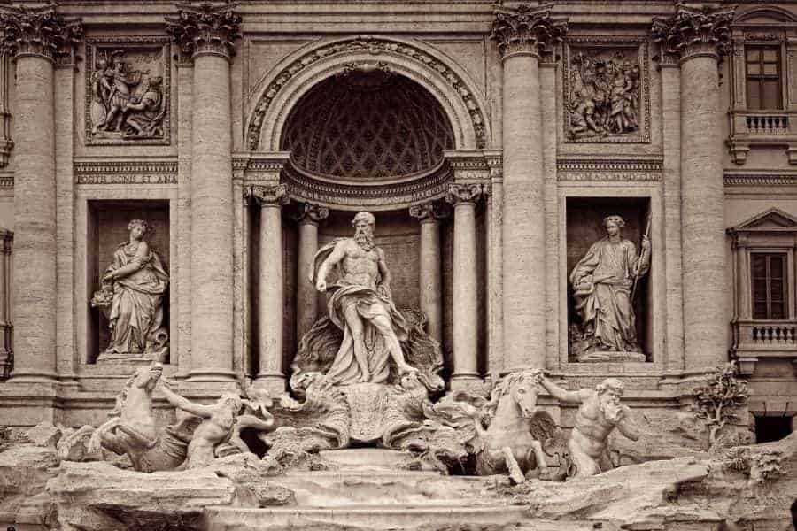 Trevi Fountain Facade