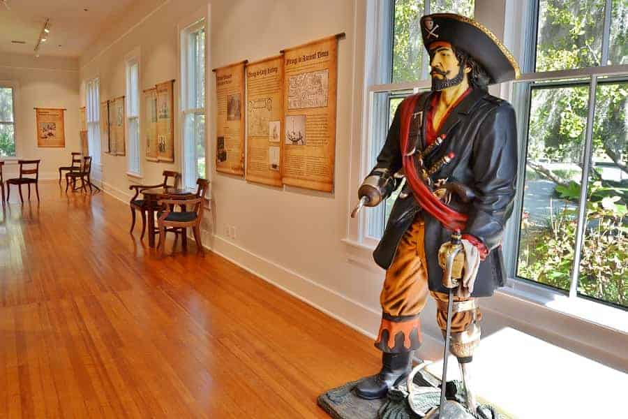 Pirate Exhibit in Coastal Discovery Museum