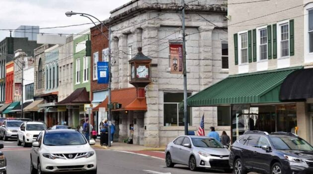 Downtown Mount Airy NC