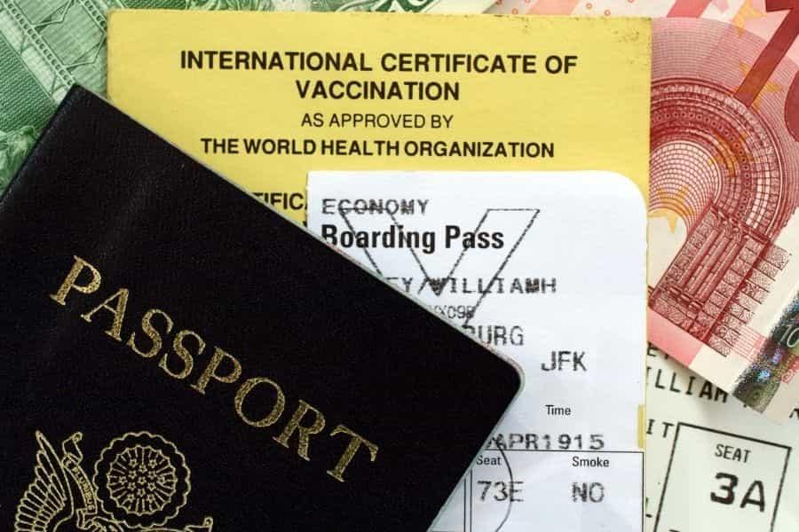 Organize Travel Documents