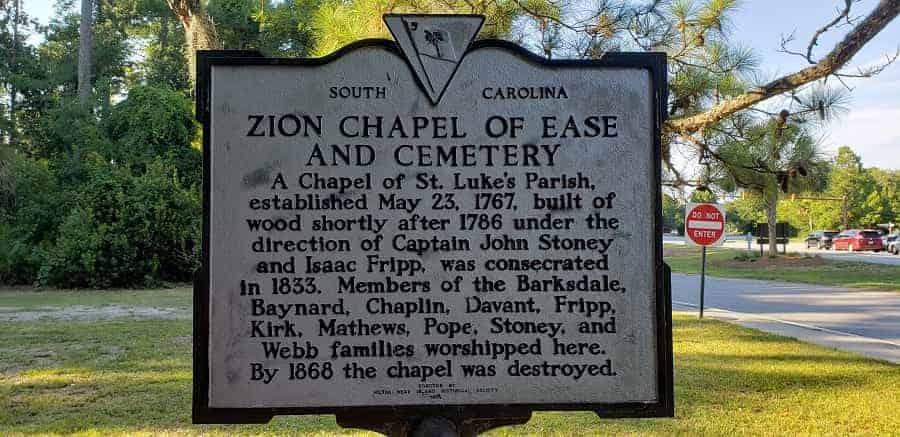 Zion Cemetery Market Hilton Head