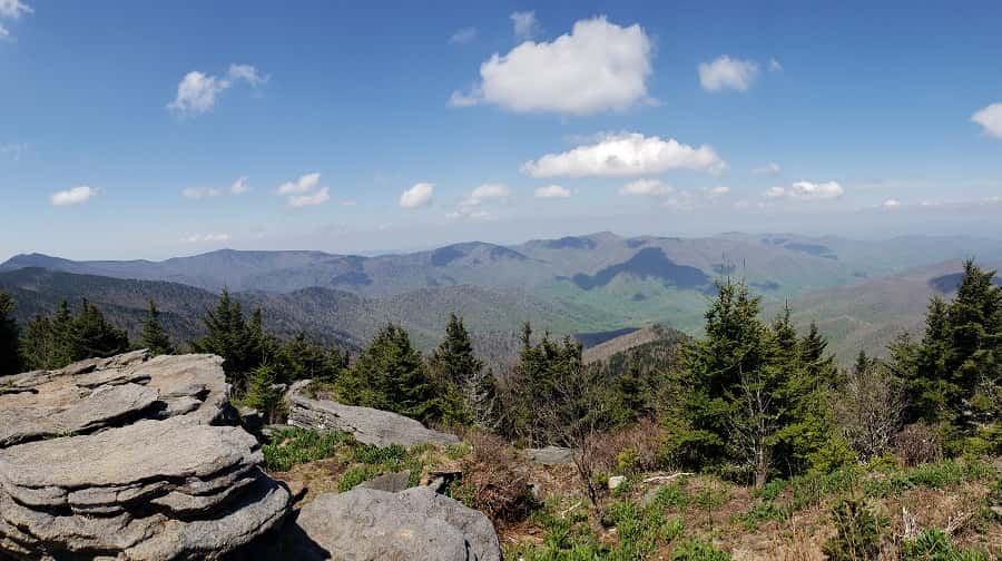 View of Blue Ridge Mountains