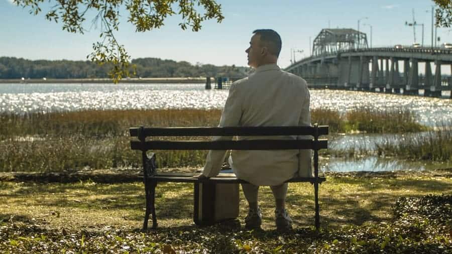 Forrest Gump Movie Scene with Woods Memorial Bridge