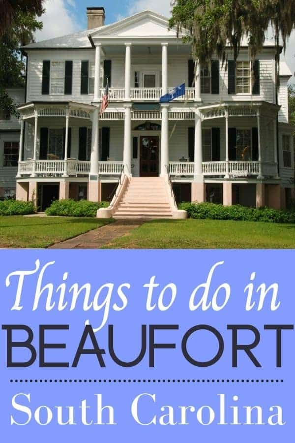 Things to do in Beaufort South Carolina