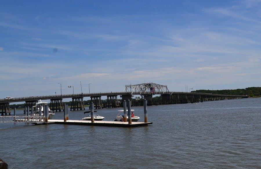 Woods Memorial Bridge Beaufort