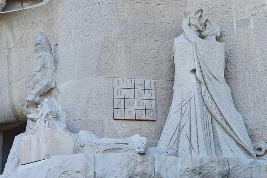 Sagrada Familia Cryptogram