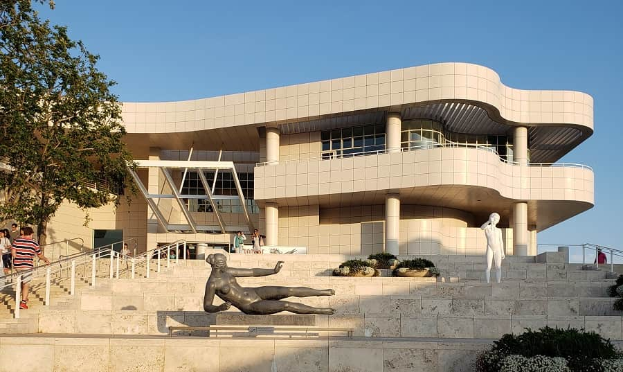 Getty Museum in LA