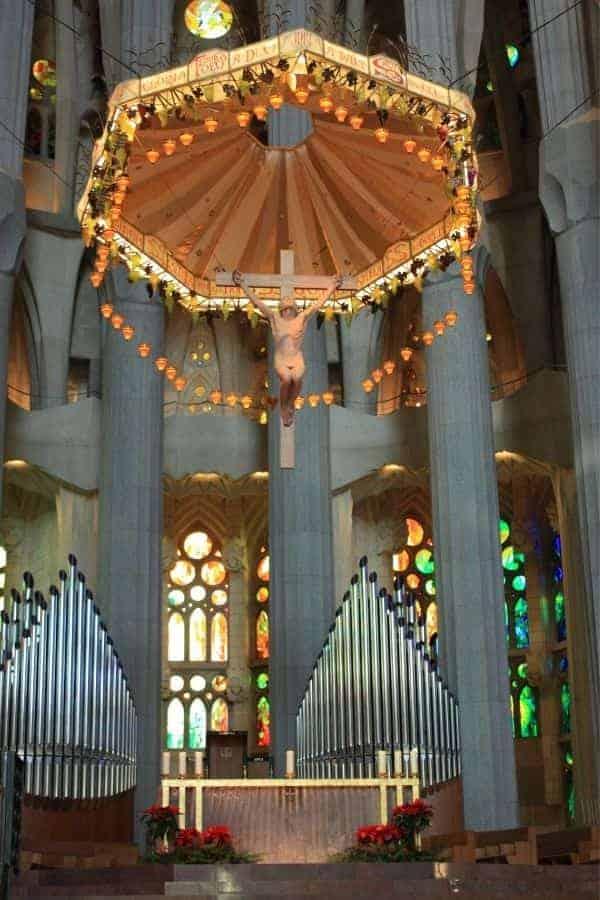 High Alter in Sagrada Familia