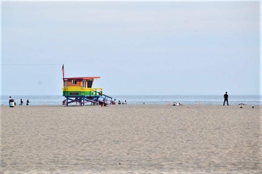 View of Venice Beach California