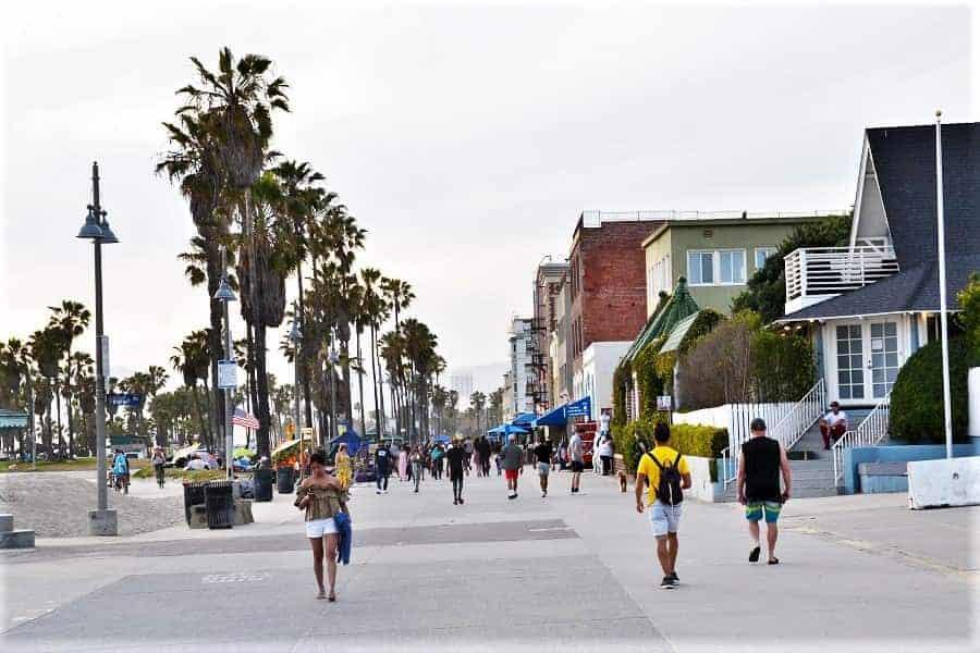 Venice Beach Walkway