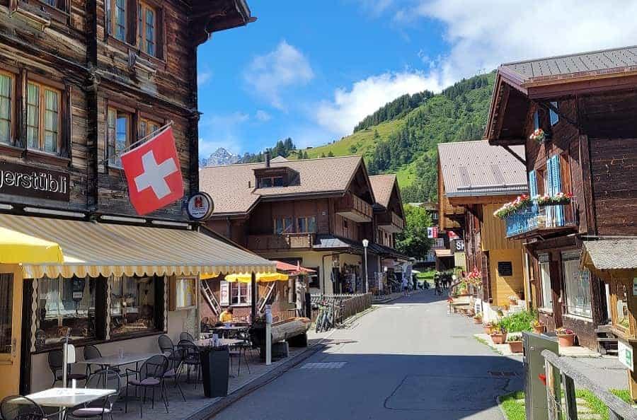 Swiss Town of Murren