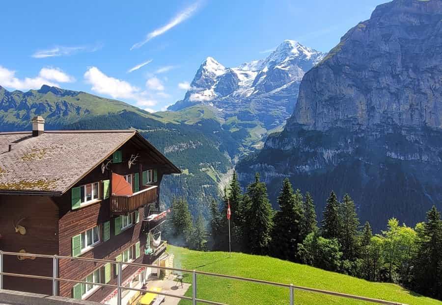 Murren Switzerland Views
