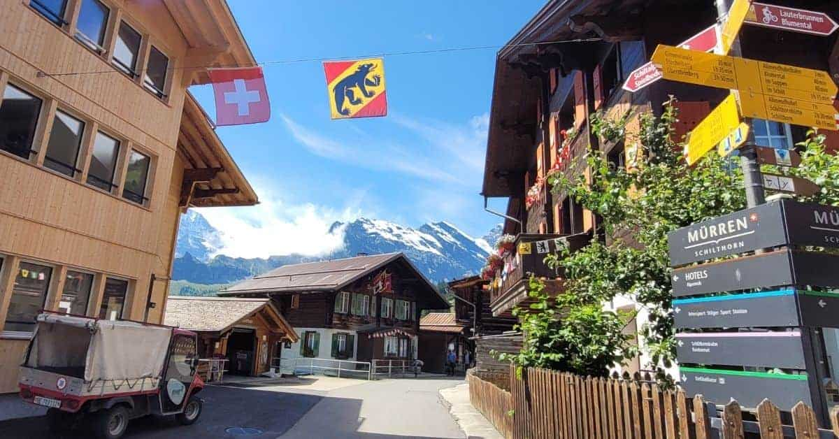 Murren, Switzerland: One of the Most Beautiful Places in the World
